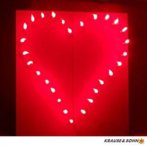 Lichterbild Rotes Herz